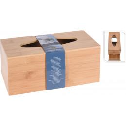 Kosteuspyyhe laatikko, bambu