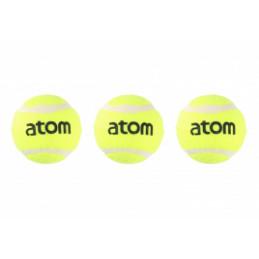 Atom Tennispallo 3kpl