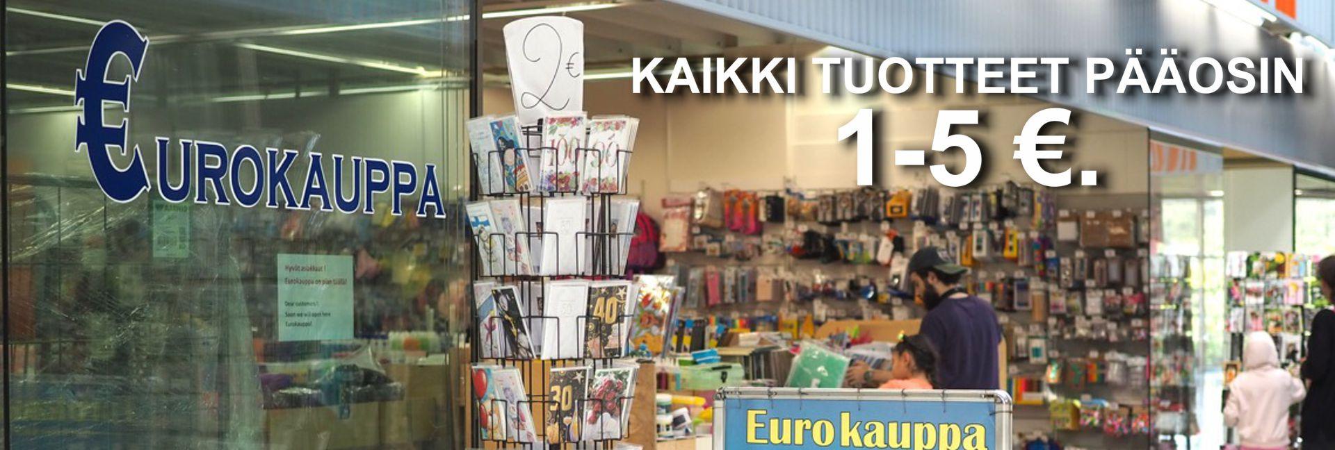 Eurokauppa- Edulliset hinnat